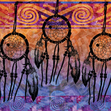 Dream Catchers Print by Bee Sturgis