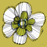 Sprinkle Flower 2 Print by Robbin Rawlings