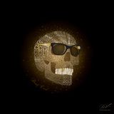 Dead Cool - Skull with Sunglasses Posters by Dominique Vari