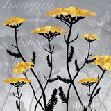 Yarrow Blooms Print by Bee Sturgis