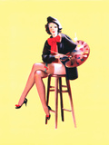 Palette-Able Pin-Up 1937 Posters by Gil Elvgren