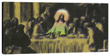 Last Supper 2 Stretched Canvas Print by Steve Kaufman