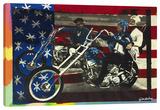 Easy Rider (En busca de mi destino) Reproducción en lienzo de la lámina por Steve Kaufman