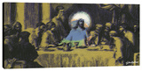 Last Supper 3 Stretched Canvas Print by Steve Kaufman
