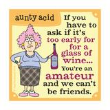 Amateurs Posters av  Aunty Acid