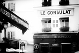 Paris Focus - Montmartre Restaurant Photographic Print by Philippe Hugonnard