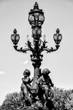 Paris Focus - French Lamppost Photographic Print by Philippe Hugonnard