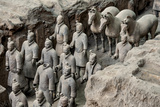 China 10MKm2 Collection - Terracotta Warriors and Horses Photographic Print by Philippe Hugonnard