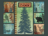 Welcome to Our Cabin 2 Posters by Bee Sturgis