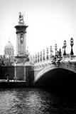Paris Focus - Paris City Bridge Fotografisk tryk af Philippe Hugonnard
