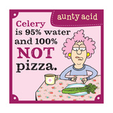 Celery or Pizza Prints by  Aunty Acid