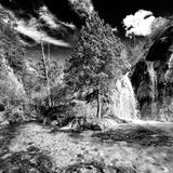 China 10MKm2 Collection - Waterfalls in the Jiuzhaigou National Park Photographic Print by Philippe Hugonnard