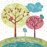 Once Upon a Time Trees Posters by Bee Sturgis