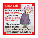 Meltdowns Posters by  Aunty Acid