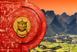 China 10MKm2 Collection - The Door God - Guilin Photographic Print by Philippe Hugonnard