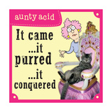 Cats Print by  Aunty Acid