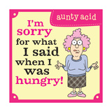 Hungry Prints by  Aunty Acid
