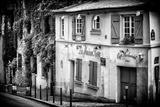 Paris Focus - La Maison Rose in Montmartre Photographic Print by Philippe Hugonnard