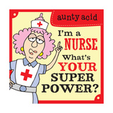 Super Power II Posters by  Aunty Acid