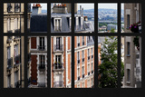 Paris Focus - Montmartre Window View Photographic Print by Philippe Hugonnard