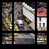 View from the Window - Taxis Photographic Print by Philippe Hugonnard