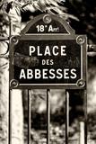 Paris Focus - Place des Abbesses - Montmartre Photographic Print by Philippe Hugonnard