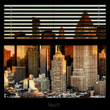 View from the Window - Hell's Kitchen at Sunset - Manhattan Photographic Print by Philippe Hugonnard