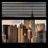 View from the Window - New York Skyline Photographic Print by Philippe Hugonnard