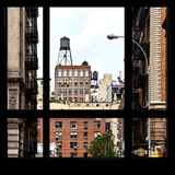 View from the Window - NYC Architecture Stampa fotografica di Philippe Hugonnard