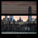 View from the Window - One World Trade Center at Sunset Photographic Print by Philippe Hugonnard