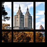 View from the Window - San Remo Building in Autumn - Central Park Photographic Print by Philippe Hugonnard