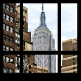 View from the Window - Empire State Building Photographic Print by Philippe Hugonnard