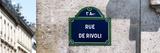 Paris Focus - Rue de Rivoli Photographic Print by Philippe Hugonnard