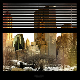 View from the Window - Central Park in Winter Photographic Print by Philippe Hugonnard