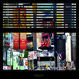 View from the Window - Times Square Buildings Photographic Print by Philippe Hugonnard