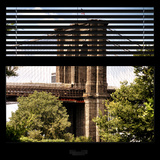 View from the Window - Brooklyn Bridge Photographic Print by Philippe Hugonnard