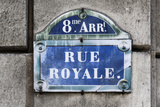 Paris Focus - Rue Royale Photographic Print by Philippe Hugonnard