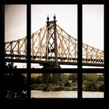 View from the Window - Queensboro Bridge Photographic Print by Philippe Hugonnard