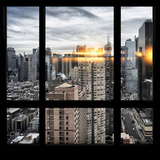 View from the Window - Times Square Photographic Print by Philippe Hugonnard