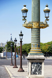 Paris Focus - Row of Lamps Photographic Print by Philippe Hugonnard