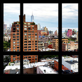View from the Window - NYC Architecture Photographic Print by Philippe Hugonnard
