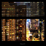 View from the Window - Manhattan Buildings Photographic Print by Philippe Hugonnard