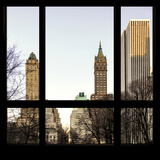 View from the Window - Central Park in Autumn Photographic Print by Philippe Hugonnard