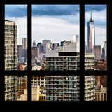 View from the Window - Manhattan Skyscrapers Photographic Print by Philippe Hugonnard