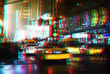 After Twitch NYC - Taxis Photographic Print by Philippe Hugonnard