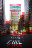 After Twitch NYC - Fire Lane Photographic Print by Philippe Hugonnard