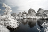 China 10MKm2 Collection - Another Look - Mountain Lake Metal Print by Philippe Hugonnard