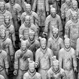 China 10MKm2 Collection - Army of Terracotta Warriors - Shaanxi Province Photographic Print by Philippe Hugonnard