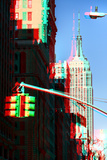 After Twitch NYC - Traffic Light Photographic Print by Philippe Hugonnard