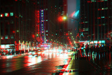 After Twitch NYC - Urban City Photographic Print by Philippe Hugonnard